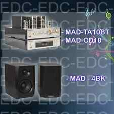 AMPLIFICATEUR STEREO À LAMPES TUBES  USB BLUETOOTH /ENCEINTES HIFI/LECTEUR CD