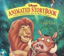 THE LION KING ANIMATED STORYBOOK +1Click Windows 10 8 7 Vista XP Install