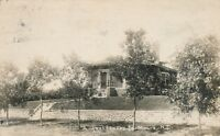 LAMOURE ND – A Residence in LaMoure Real Photo Postcard rppc La Moure - 1928