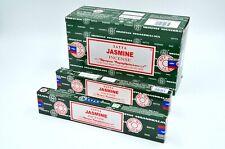Satya Nag Champa Jasmine scent dhoop Best Incense Sticks Yoga Agarbatti 12Pk 15g