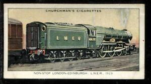 Tobacco Card, Churchman, LANDMARKS IN RAILWAY PROGRESS,1931,London,Edinburgh,#47