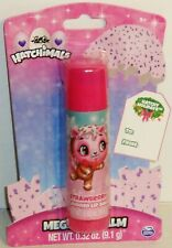 1 HATCHIMALS Mega Lip Balm STRAWBERRY .32 oz (9.1g) In Sealed Package