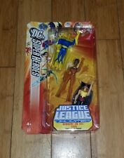 2005 JUSTICE LEAGUE UNLIMITED HAWKGIRL,DR FATE,VIXEN 3 PACK RYRO TOYS 2A