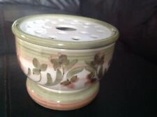 Vintage Jersey Pottery Pot Pourri / Rose bowl  Flower Display Bowl