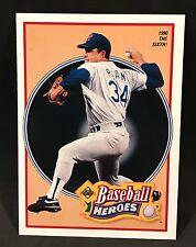 1991 UPPER DECK BASEBALL HEROES NOLAN RYAN 1990 THE SIXTH! CARD #16 NMT/MT-MINT