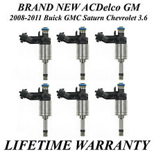 OEM ACDelco PN12634126 Reman 6x Fuel Injectors Years 2012-2018 Chevy Impala 3.6L