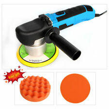 "220V 680W 6"" Electric Car Polisher DA Polishing Machine 150mm Buffing Sponge Pad"