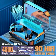 New listing Wireless Earbuds Tws Waterproof Bluetooth Headphone Noise Canceling Earphones