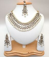 Indian Asian Bridal Jewellery Party Ethnic Wear Bollywood Necklace Set