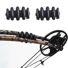 2pc Archery Compound Bow Stabilizer Limb Vibration Silencer Arrow Damper Hunting