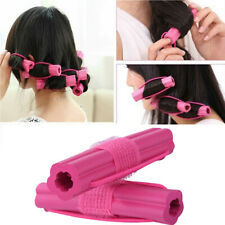 FP- 1x Magic Silicone Hair Curlers Rollers Binding  Formers Styling Curling Tool