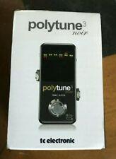 TC Electronic PolyTune 3 Noir accordeur polyphonique avec buffer 6 évaluations