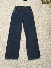 VTG Levi's 301-0117 Button Fly Jeans Boys Size 10 25x28 (tag size) 501 701