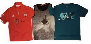 Boys Adidas, Nike, T-shirt Lot, Șize 10-12