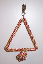 Rope Swing Triangle Shape 11� High 7� Wide Perch