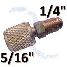 3S NEUF Raccord clim R410A Adaptateur R410-A 1/4 SAE - 5/16 SAE CLIMATISEUR
