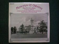 Memories Of Osborne Miss Dorothy Blake~RARE UK Import~UK Spoken Word Historical