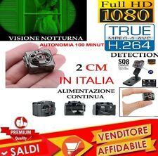 MICRO CAMERA TELECAMERA FULL HD INFRAROSSI MICRO CAMERA Spy Cam - GoPro Style