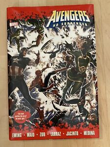 Avengers No Surrender Complete Marvel Deluxe OHC Hardcover 1st Immortal Hulk