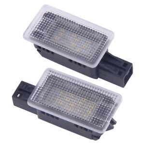 2x Licence Plate LED Light Fit For Volvo C70 S60 S80 V40 V50 XC60 XC90