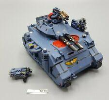 Warhammer 40k Space Marines Predator Tank Damaged 6410