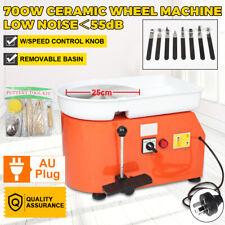 Upgrade Version LCD Display 700w220v Electric Pottery Wheel 25cm Machine Ceramic