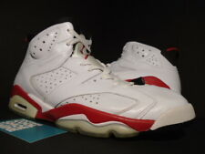 2010 NIKE AIR JORDAN VI 6 RETRO WHITE VARSITY RED INFRARED BLACK 384664-102 10.5