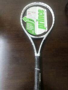 New Prince Exo3 white 10.4oz 4 1/4 grip Tennis Racquet