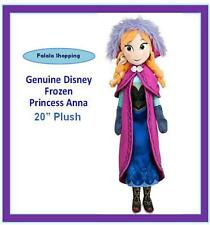 "FALALA GENUINE DISNEY FROZEN PRINCESS ANNA 20"" BIG PLUSH DOLL W/ TAG ELSA SISTER"