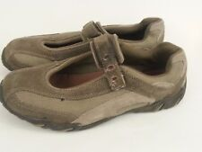 Colemen Hiedi Hiking Outdoor Shoes womens size 9 Med Leather Mary Jane Brown Tan