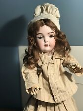 Antique German Bisque Doll Kestner 171 Marked Body All Antique Costume 21 in