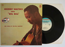 """LP Muddy Waters sings """"BIG BILL"""" Broonzy ~ Chess records 1960 (Vogue France) EX"""