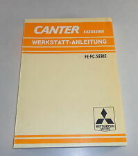 Workshop Manual Canter Lorry Fe - Fc- Series 1978 - 1985 Stand 09/1981