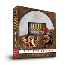 DVD:WW1 COMMEMORATION GIFT TIN - NEW Region 2 UK