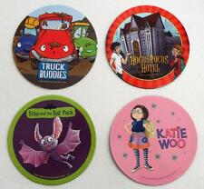 4 New  Hocus Pocus Hotel  Echo And The Bat Pack Truck Buddies Katie Woo  MAGNETS