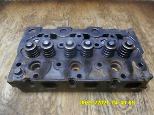 BOBCAT 643 KUBOTA ENGINE D1402 CYLINDER HEAD 6660965