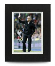 Jose Mourinho Signed 10x8 Photo Display Chelsea Autograph Memorabilia + COA