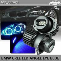 160W Blue LED Angel Eye Halo Ring Bulbs For BMW E90 2006-2008 323i 328i 330xi
