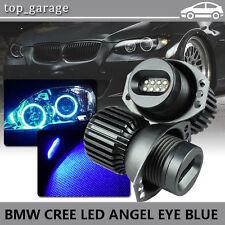 160W Blue LED Angel Eye Halo Ring Bulbs For BMW E90 2006-2008 323i 328i 330xi