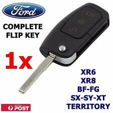 FORD 3 Button Transponder Remote Flip Key  BF FG Falcon Territory Mondeo FPV