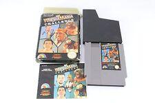 NES Nintendo combat wwf challenge jeu collector's panier superbe