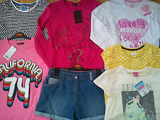 NICE NEW 29x BUNDLE OUTFITS GIRL CLOTHES 11/12 yrs TOPS LEGGINS DRESSES (5.3)