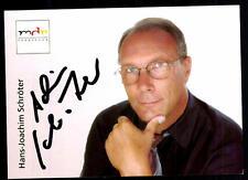 Hans Joachim Schröter MDR Autogrammkarte Original Signiert ## BC 52708
