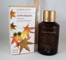L'ERBOLARIO Parfum pour bois parfumé AMBRALIQUIDA 125ml rafraîchisseur d'air