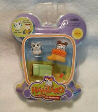 Hamtaro Snoozer Bijou Ham Ham Play Set Nip Little Hamsters Big Adventures