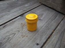 Vintage 1950's KODAK 35mm film cannister, yellow