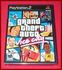 Grand Theft Auto Vice City for the Sony Playstation 2 PS2 NEW SEALED