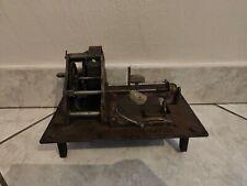 moteur mécanisme de gramophone / phonographe
