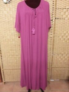 LADIES TREE OF LIFE PINK DRESS FREE SIZE FIT APPROX UP TO 22/24