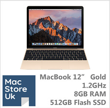 "New Apple MacBook 12"" Gold -1.2GHz -8GB RAM -512GB Flash - 3 months warranty"